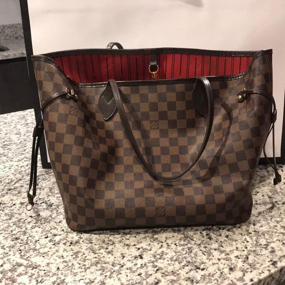 Louis Vuitton Handbags - 100% AUTHENTIC Louis Vuitton Neverfull MM a5e826d904